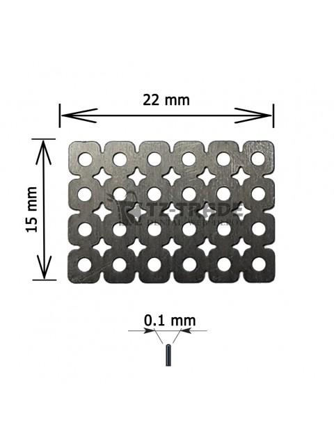Titanium Mesh 15x22x01 pore 1.4 Membrane not sterile