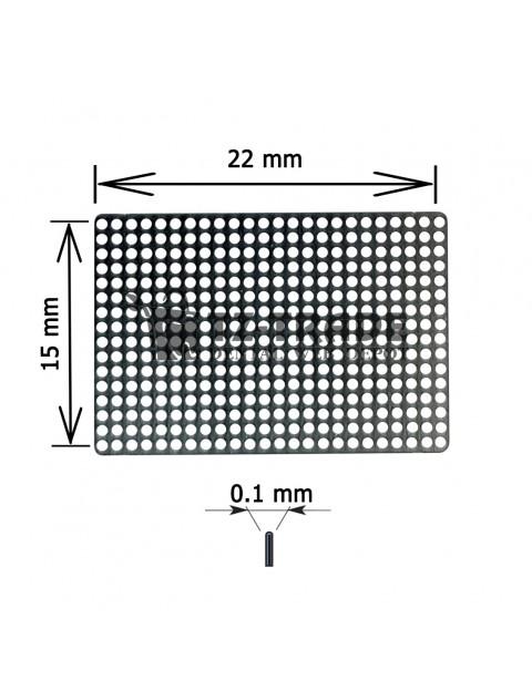 Titanium Mesh 15x22x01 pore 0.6 Membrane not sterile
