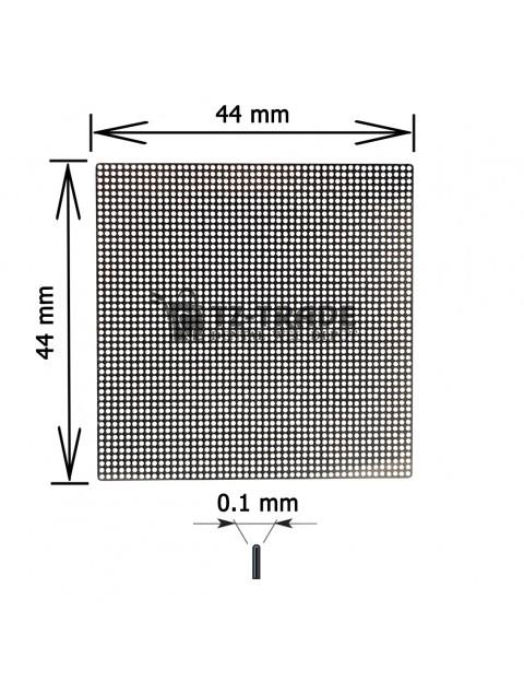 Titanium Mesh 44x44x01 pore 0.6 Membrane not sterile