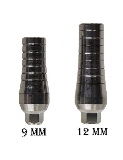 Straight Titanium Abutment 9mm/12mm
