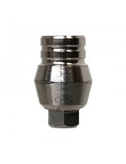 Straight Titanium Abutment Short 5 mm