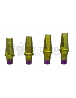 Straight abutment MIS SP C1-V3 CPK compatible 8 MM