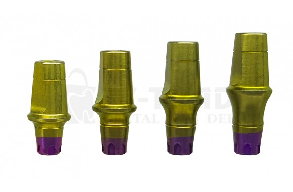 Straight abutment MIS SP C1-V3 CPK compatible 6 MM