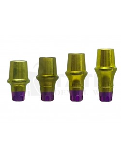 Straight abutment MIS SP C1-V3 CPK compatible 4 MM