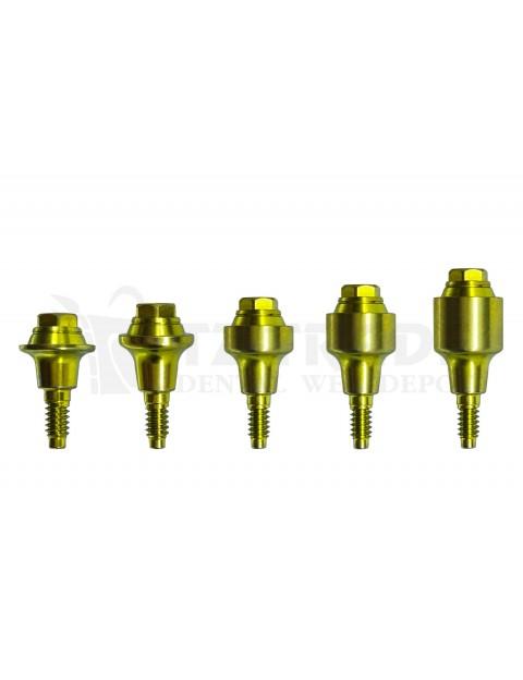 Straight Multi Unit abutment MIS NP C1-V3 compatible