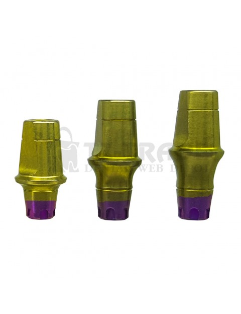 Straight abutment MIS SP C1-V3 CPK compatible 6 MM wide