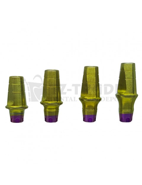 Straight abutment MIS SP C1-V3 CPK compatible 8 MM wide