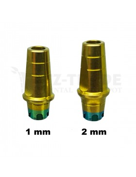 Straight abutment MIS WP C1 CPK compatible 8 MM wide