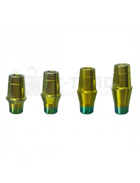 Straight Shoulder abutment MIS WP C1 1-4 mm