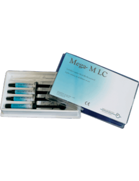 Light curing, ready-to-use contouring gel in syringes 3gr Mega-M LC Megadenta