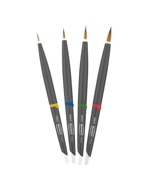 Genius Natural bristle brush set Renfert