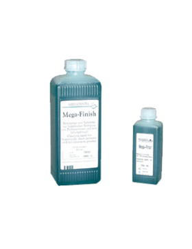 Liquid for cleaning of the dentures and resin surfaces Mega  Finish 500 ml Megadenta