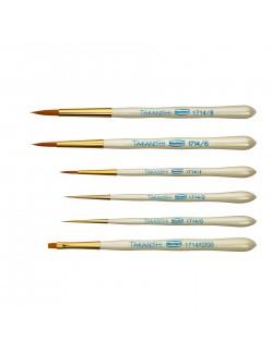 Takanishi Synthetic bristle brush set Renfert