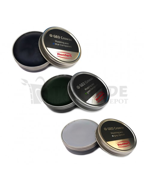 Modelling Wax Renfert GEO Crowax Blue/Green/Gray
