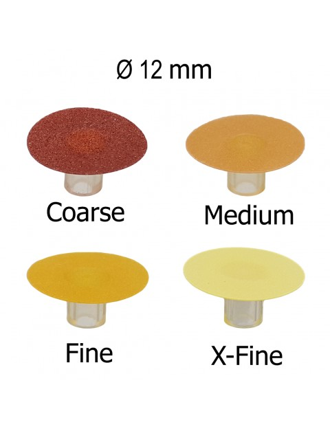 Super Flexible Discs for Composites Refill sof lex color 12 mm stem